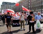 Tłum kredytobiorców protestował na ulicach Warszawy