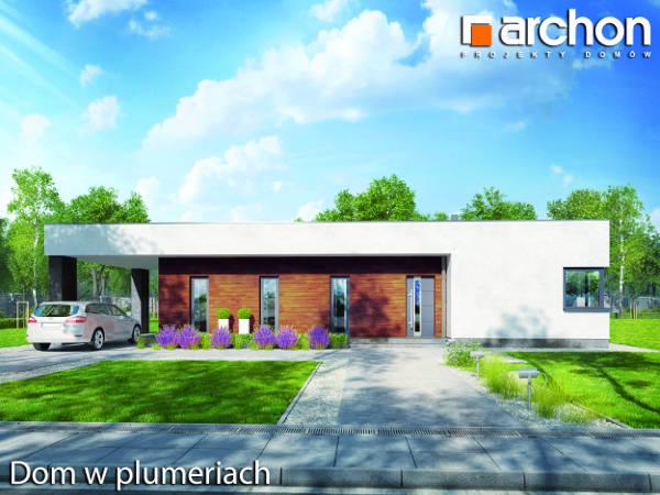 Projekt Domu w plumeriach